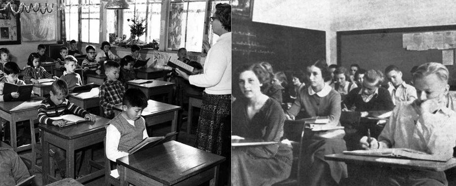 Classroom 1932 & 1947