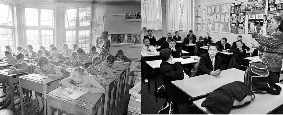 Classroom 1965 & 2007